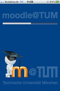 Screen Mobile Moodle